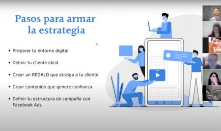 Webinar Embudos de Ventas Online en Facebook y en Instagram