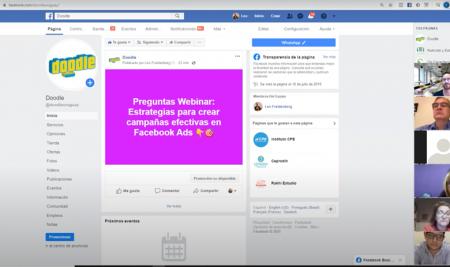 Webinar Live Estrategias de campañas en Facebook ADS