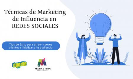 Técnicas de Marketing de Influencia en REDES SOCIALES
